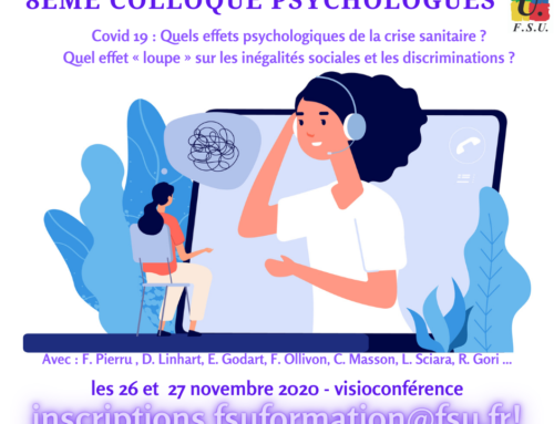 8ème colloque des psychologues de la FSU